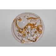 Картина «Фрукты» 14 см. круглая, золото