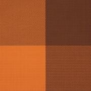 Настол.подкладка, полиэстер, L=40,B=30см, оранжев.