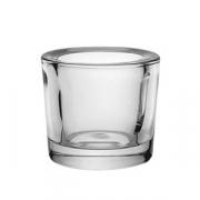 Подсвечник, стекло, D=65,H=60мм
