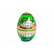 Шкатулка «Лепка зеленая»