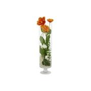 Декоративные цветы Маки в стекл вазе