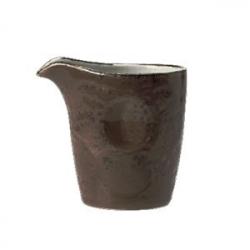 Молочник «Крафт», фарфор, 85мл, серый