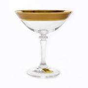Набор креманок 180мл.6шт «Клеопатра Золотая дорожка 1»