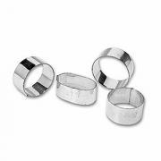 Кольцо кондитерское, сталь нерж., D=55,H=30мм, металлич.