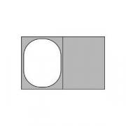 Гастроемкость (1/2), пластик, H=10,L=32,B=26.5см