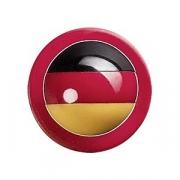 Пукли «Флаг Германии» [12шт], пластик, красный,черный