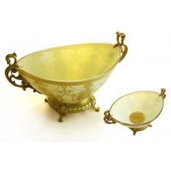 Декоративная ваза для фруктов 34х21х19 см «Людовик»