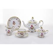 Сервиз чайный 210 мл. на 6 перс. 21 пред. подарочный «1145»