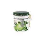 Банка для сыпучих продуктов Зеленые яблоки