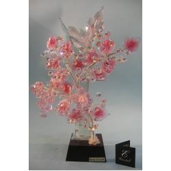 Бонсай с виноградом розовый, 32 см.