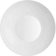Тарелка глубокая «Зеникс» D=26, H=3.7см; белый
