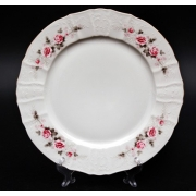 Блюдо круглое 30 см «Роза серая 5396011»