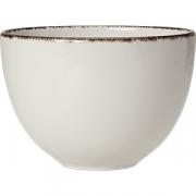 Бульон. чашка «Браун дэппл» фарфор; 455мл; белый, коричнев.