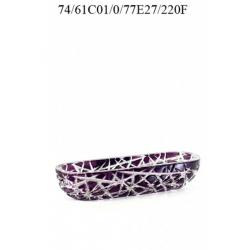 Салатник фиолетовый 220
