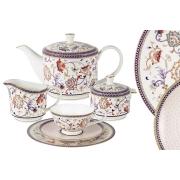 Чайный сервиз Королева Анна 21 предмет на 6 персон