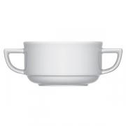 Бульонная чашка «Опшенс», фарфор, 260мл, белый
