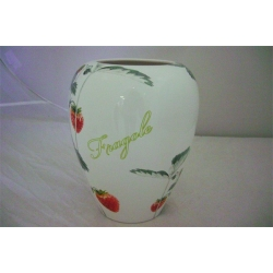 Ваза для цветов «Клубника» 30 см