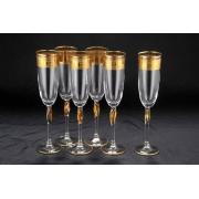 Набор бокалов для шампанского 6 шт