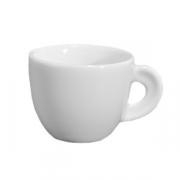 Чашка кофейная «Эдекс», фарфор, 70мл, белый