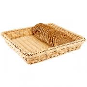 Корзина для хлеба 32.5*26.5см,полиротанг