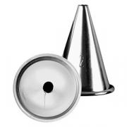Насадка конд. «Круг», сталь нерж., D=35/5,H=45мм, металлич.