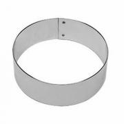 Кольцо кондитерское, сталь нерж., D=110,H=35мм, металлич.