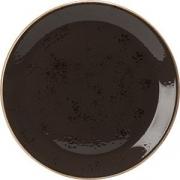 Тарелка мелкая «Крафт» D=28см; серый
