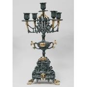 Пара канделябров 5 свечей 44х25см.