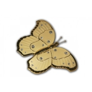 Декоративное изделие Бабочка(кремовая)