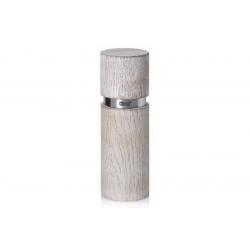 Мельница для соли/перца AdHoc, серия TEXTURA ANTIQUE, белый, 20см