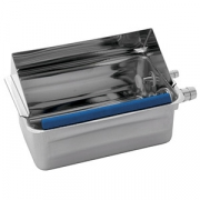 Контейнер для ложек для мороженого; сталь нерж.; H=75,L=200,B=120мм
