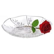 Ваза для фруктов хрустальная Розы