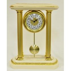 Настольные часы «Нефрит» керамика, высота - 44 см