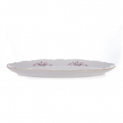 Блюдо для рыбы 52 см «Роза серая 5396011»