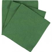 Салфетки 3х-слойн. [20шт] L=13, B=13см; зелен.