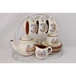Чайный набор «Сицилия» на 6 персон 15 предметов
