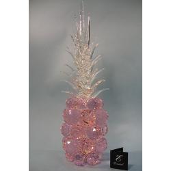 Ананас розовый, прозрачный лист d 50 14х45 см