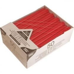 Свечи красные 50шт. d=2.2см h=25см