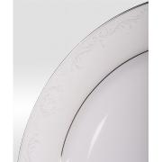 Набор подстановочных тарелок «Серый шелк» на 6 персон