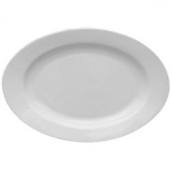 Блюдо овал «Кашуб-хел» L=38см фарфор