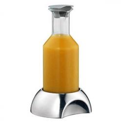Бутылка на подставке; стекло,сталь нерж.; 1.2л