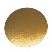 Подложка для конд.изд.; D=20см; золотой