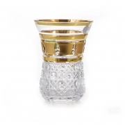 Набор стаканов 200мл.6шт «Золотые окошки-Армуда PP420»