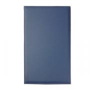 Папка для счетов, кожа, L=22,B=12см, синий