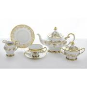 Сервиз чайный на 6 перс. 21 пред. «Кастэл» подарочный