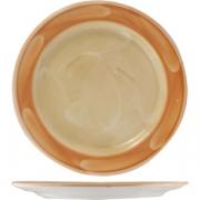 Тарелка «Паприка» 27см фарфор