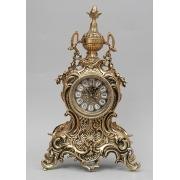 Часы с кубком золотистый 40х25 см.