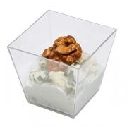 Креманка [600шт], полистир.пищ., 60мл, H=44,L=49,B=49мм