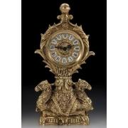 Часы - верблюд на 1 св. цвет - золото 30х15см