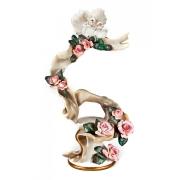 Скульптура-ваза «Лента с голубями» 57*42см